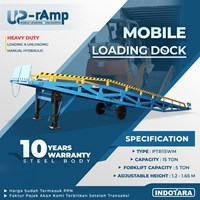 Upramp Mobile Loading & Unloading dock - PTR15WM