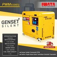 Genset Diesel IWATA 5Kva Silent - PWM6500-SL