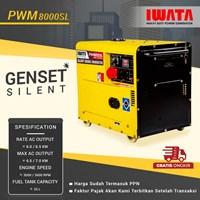 Genset Diesel IWATA 6Kva Silent - PWM8000-SL