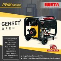 Genset Diesel IWATA 6Kva Silent - PWM8000-OL