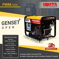 Genset Diesel IWATA 10Kva Silent - PWM12-OL