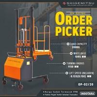 Semi Electric Order Picker Shigemitsu OP-02/20