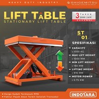 Stationary Lift Table Shigemitsu - ST01