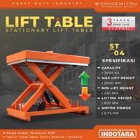 Stationary Lift Table Shigemitsu - ST04