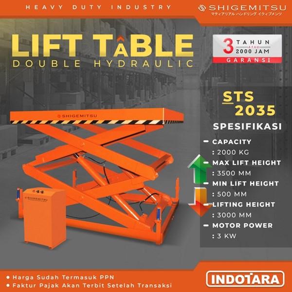 Hydraulic Lift Table Shigemitsu - STS2035
