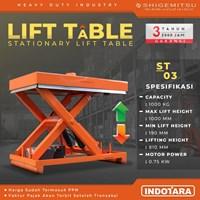 Stationary Lift Table Shigemitsu - ST03