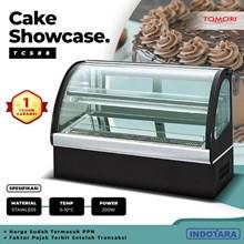 Cake Showcase Curved Tomori - TCS-88