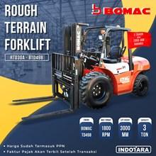 Bomac Rough Terrain Forklift 3 TON - RD30A-BTD498
