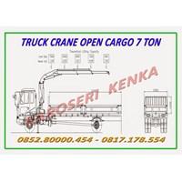Truck Crane Open Cargo