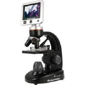 Mikroskop Trinokuler Calestron 44340 Lcd Digital Ldm