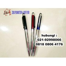 A Souvenir Ballpoint Pen Metal Stylus With Crystal