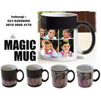 Jual Mug Bunglon Mug Magic Sablon Foto Souvenir 2