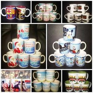 Mug Custom Untuk Souvenir Barang Promosi Event
