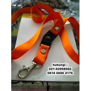 Tali Id Card Lanyard Necklace Bahan Polyester