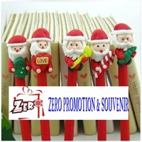 Boneka Santa Pen Souvenir