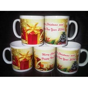Souvenir Mug Untuk Hadiah Natal