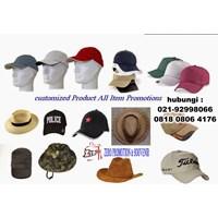 Tempat Bikin Topi Promosi Partai Besar Dan Kecil Sablon Dan Bordir Barang Promosi