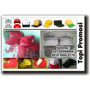 Konveksi Topi Tangerang Topi Promosi Topi Seragam Barang Promosi