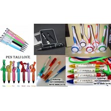 Ballpoint Plastik Souvenir Barang Promosi