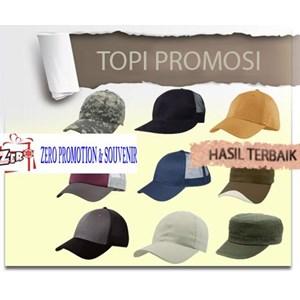 Topi Promosi Sablon Topi Bordir Topi Topi Perusahaan Topi Kampanye Topi Souvenir Topi Drill Barang Promosi