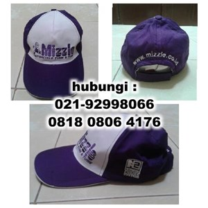 Topi Promosi Sablon Topi Bordir Topi Topi Perusahaan Topi Kampanye Topi Souvenir Topi Dril Barang Promosi