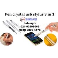 Pen Crystal Usb Stylus Untuk Barang Promosi