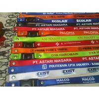 Tali Id Card Lanyard Necklace Bahan Polyester Tangerang