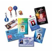 Cetak ID Card Kartu Angota Name Tag Dengan Tali Sablon Yoyo Dan Casing Frame Rumah Id Card