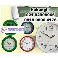 Distributor Jam Souvenir  Wall Clock  Jam Promosi Jam Dinding Promosi