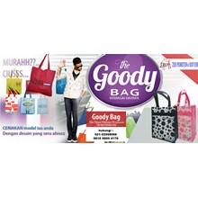 Production of the Goody bag spundbond bag go green bag canvas bag recycle bag furing goodie bag bag promotional bag canvas bags Tangerang