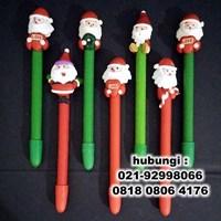 Distributor Souvenir Pulpen Natal Murah 3