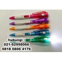 Distributor Souvenir Pulpen Senter Pen Senter 3
