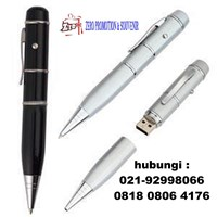 USB  Flashdisk Pen Laser Pointer Promosi Souvenir Hadiah Gift Merchandise 1
