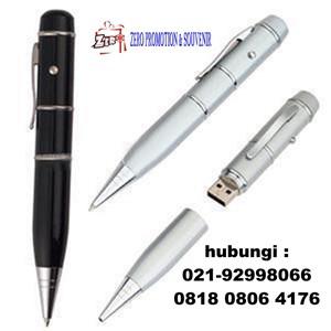 USB  Flashdisk Pen Laser Pointer Promosi Souvenir Hadiah Gift Merchandise