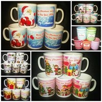 Jual Mug Souvenir Murah Natal Dan Tahun Baru  Utk Barang Promosi 2
