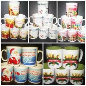 Mug Souvenir Murah Natal Dan Tahun Baru  Utk Barang Promosi