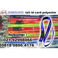 Jual Tali Id Card sablon logo di tangerang 2