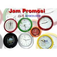 Jam Dinding Promosi sablon logo termurah 1
