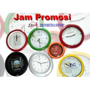 Jam Dinding Promosi sablon logo termurah