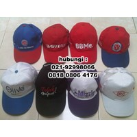 Distributor Souvenir Topi sablon atau Bordir Murah 3