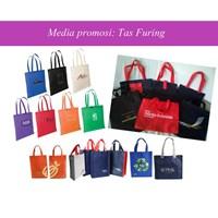 Jual shopping bag furing bag tote bag 2