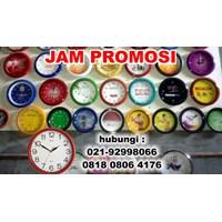 Jam Dinding  Jam Meja Promosi Murah digital print logo 1