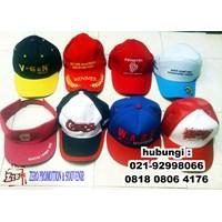 Distributor Topi Barang Promosi Topi Murah Topi Sablon Topi Bordir 3