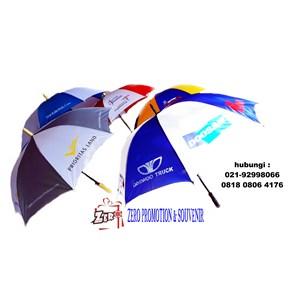 souvenir payung standart rangka hitam bisa sablon logo