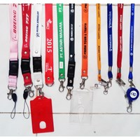 ID Card Tali Lanyard name tag plastik  1