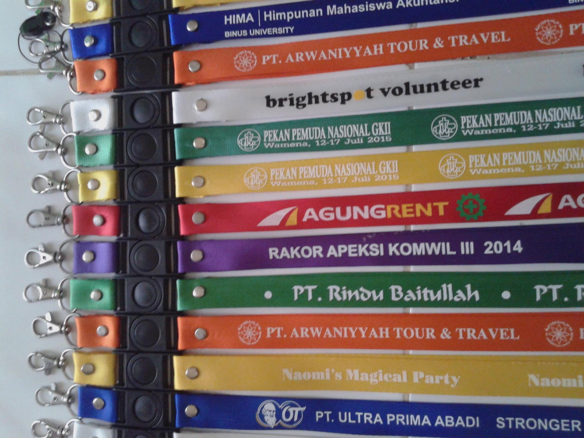 Jual Tali Id Card Bikin Agen Di Tangerang Yoyo Nametag Dan Harga Murah Oleh Toko Zeropromosi