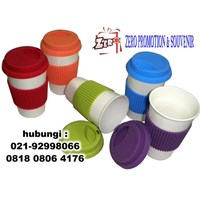 Distributor Grosir Mug Porcelen Rainbow Barang Promosi 3