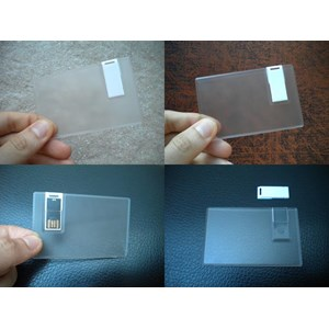 Usb Flashdisk Kartu Transparan Fdcd11 Utk Barang Promosi