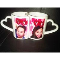 Jual mug couple mug pasangan 2