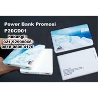 Power Bank Promosi P20CD01